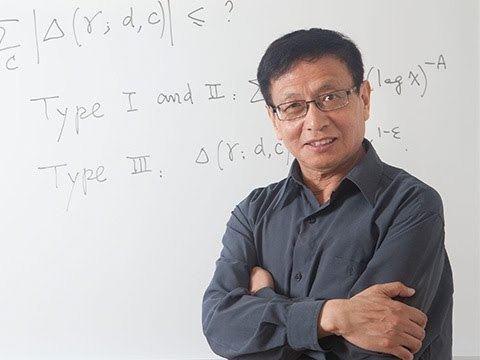 Yitang Zhang Mathematician Yitang Zhang 2014 MacArthur Fellow YouTube
