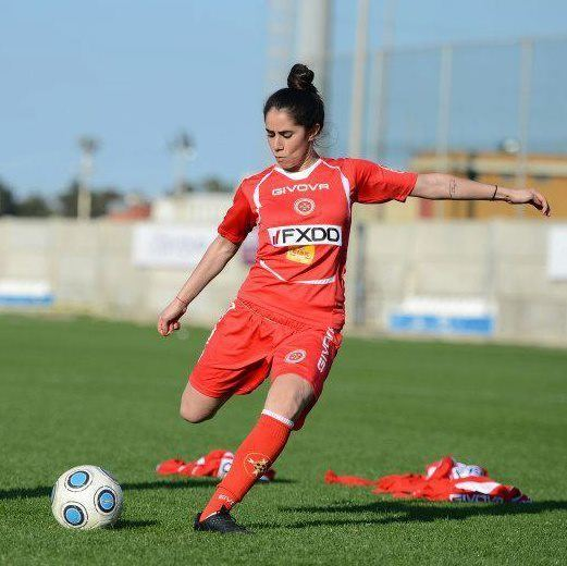 Ylenia Carabott Interview with footballer Ylenia Carabott
