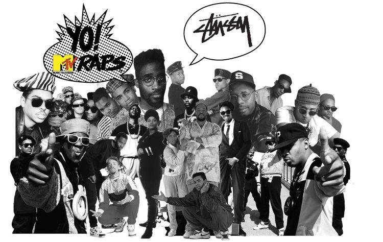 Yo! MTV Raps Stussy x Yo MTV Raps Stussy
