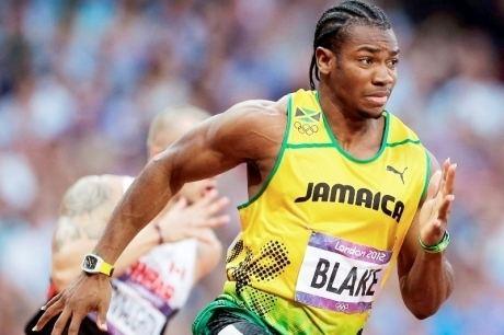 Yohan Blake Yohan Blake PanamericanWorld