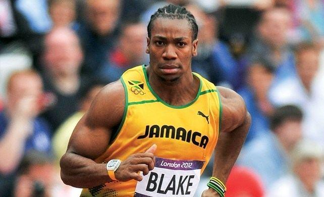 Yohan Blake Yohan Blake wore a Richard Mille watch at the Olympics
