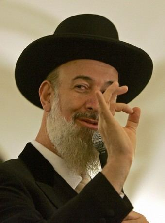 Yona Metzger Israel39s Chief Rabbi Yona Metzger Follow The Money