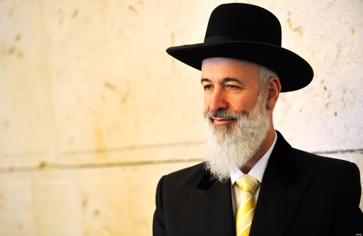 Yona Metzger Israeli Chief Rabbi Yona Metzger Suspends Self Amid Money
