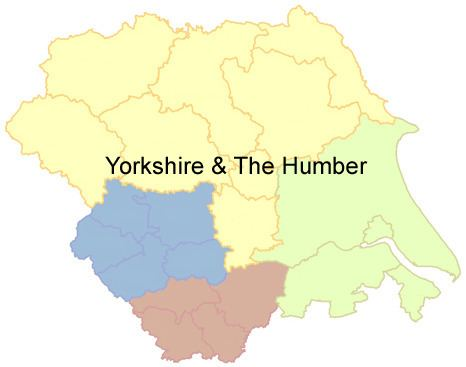 Yorkshire and the Humber Yorkshire and the Humber region Public and Commercial Services Union