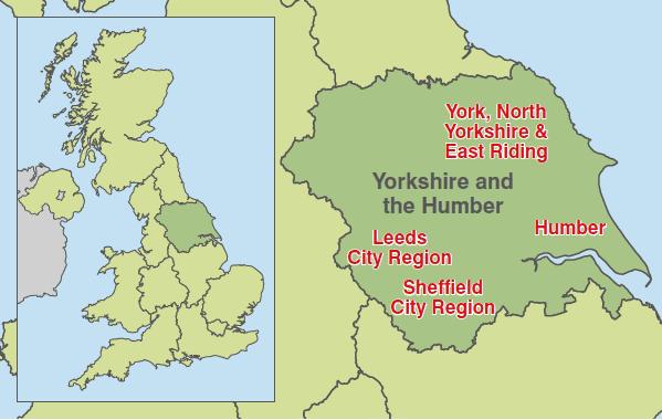 Yorkshire and the Humber Yorkshire and The Humber TradeInvest BritishAmerican Business
