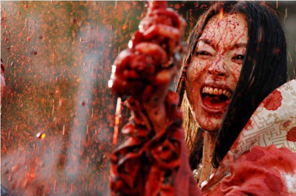Yoshihiro Nishimura DVD Review Helldriver A JHorror Film By Yoshihiro