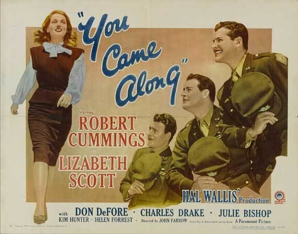 You Came Along Movie Posters From Movie Poster Shop