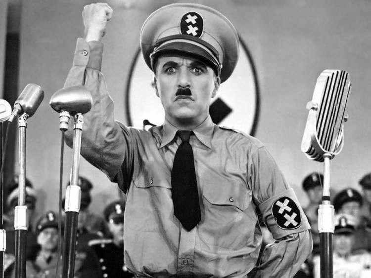 You Nazty Spy! movie scenes Charlie Chaplin as Adenoid Hynkel in the film The Great Dictator 1940