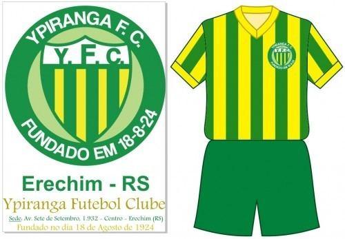 Ypiranga Futebol Clube Ypiranga Futebol Clube Erechim RS Modelo de 1967 Histria do