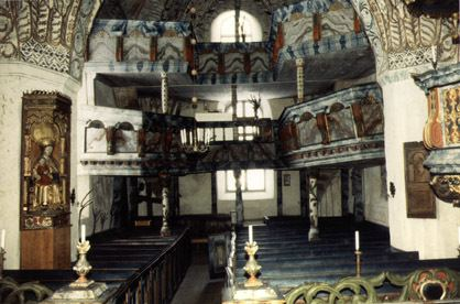 Ytterlännäs old church