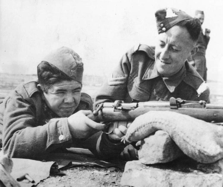 Yugoslav Partisans World War II Malta the right island last years