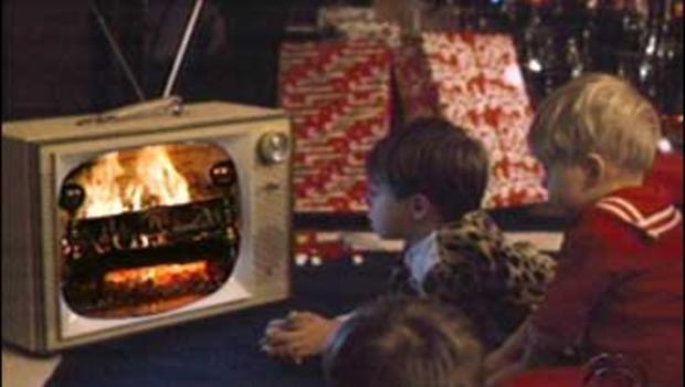 Yule Log (TV program) Battle Of The TV Yule Logs CBS News