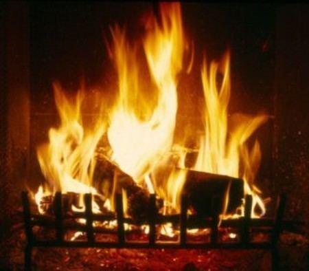 Yule Log (TV program) Yule Log TV put out by local fire deparment Geekcom