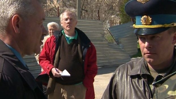 Yuliy Mamchur CBC News Crimea base standoff sheds light on wider