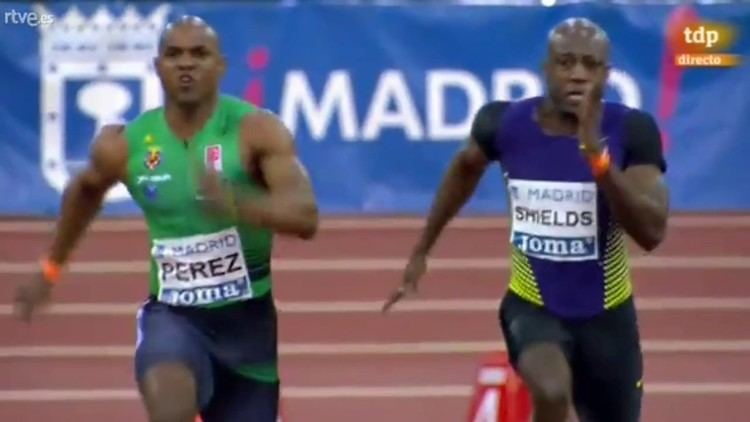 Yunier Perez Yunier Perez wins 60m Men Final Meeting Ville de Madrid 2017 YouTube