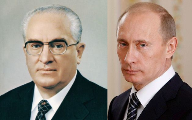 Yuri Andropov From Andropov to Putin The Last Spasm of a Decrepit Dictatorship