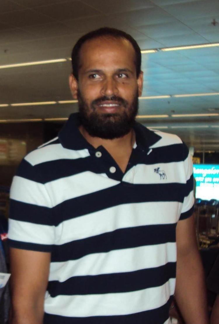 Yusuf Pathan (Cricketer) playing cricket