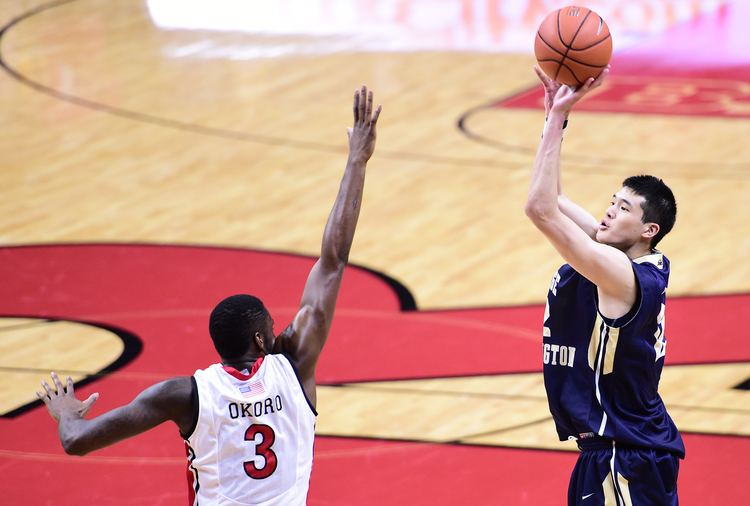 Yuta Watanabe Yuta Watanabe makes quick impact for George Washington as