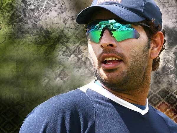 Yuvraj Singh (Cricketer) playing cricket