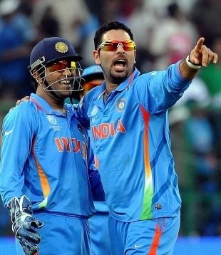 India v Ireland World Cup 2011 Allround Yuvraj stars in Indian