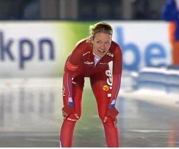Yvonne Nauta Nauta wint 3000 meter Voorhuis leidt NK Allround Schaatsen