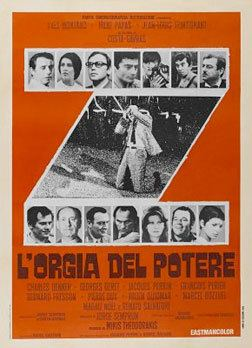 Z (1969 film) A new print of Costa Gavras 1969 classic Z