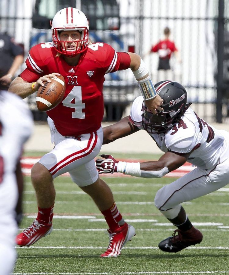 Zac Dysert Miami39s Dysert makes FBS history in conference known for