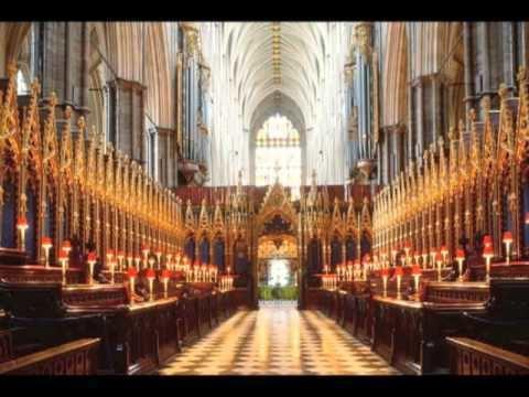 Zadok Zadok the Priest Choir of Westminster Abbey YouTube