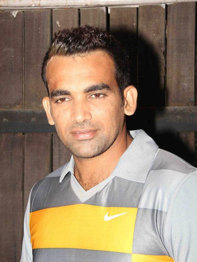 Zaheer Khan (Cricketer) playing cricket