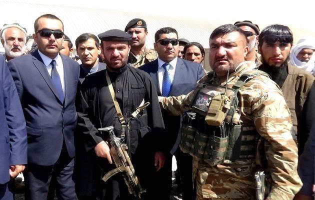 Zahir Qadir Zahir Qadir In Tora Bora Pajhwok Afghan News