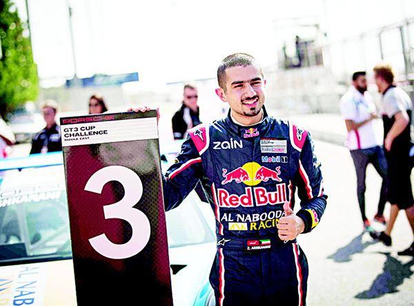 Zaid Ashkanani Kuwaits Zaid Ashkanani resumes title challenge Porsche GT3 Cup