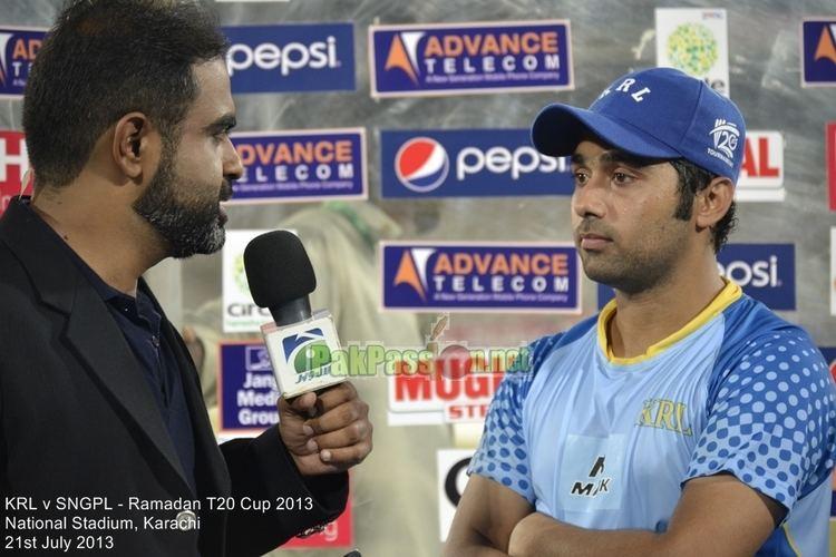 Zain Abbas (Cricketer)
