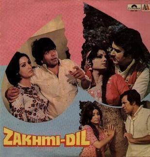 Zakhmi Dil (1981 film) movie poster