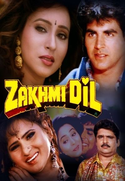 Zakhmi Dil (1994 film) Zakhmi Dil Bollywood icflix Regarder des films sries TV en