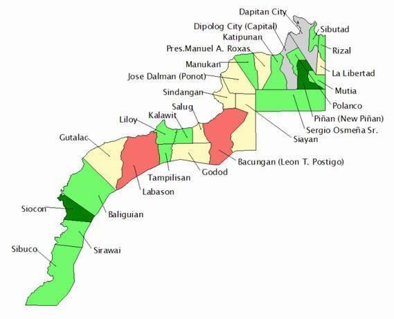 Zamboanga del Norte in the past, History of Zamboanga del Norte