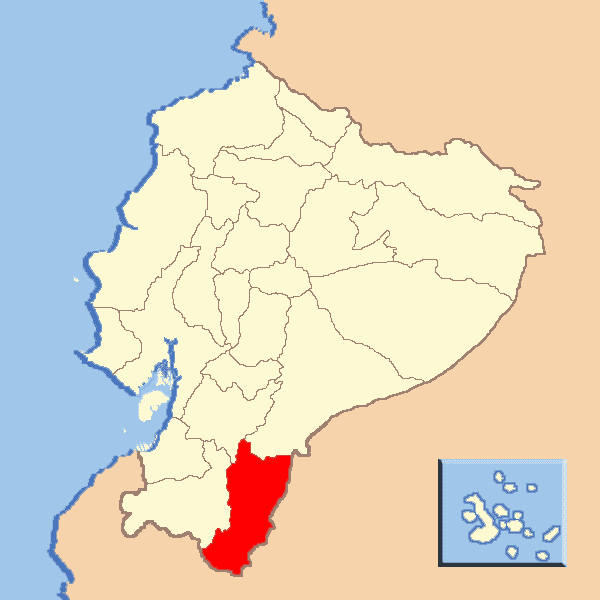 Zamora Chinchipe Province in the past, History of Zamora Chinchipe Province