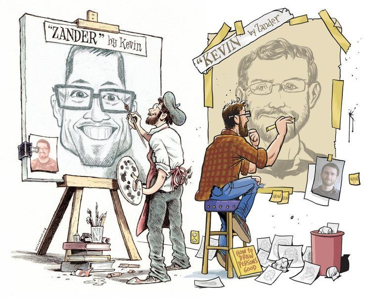 Zander Cannon 2 Twin Cities illustrators draw attention to themselves