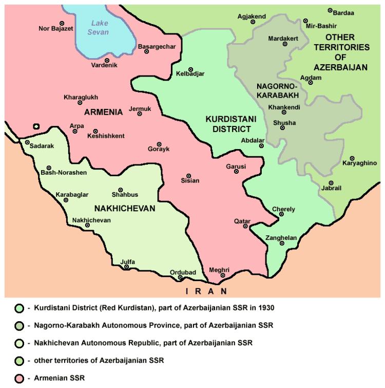 Zangilan District in the past, History of Zangilan District