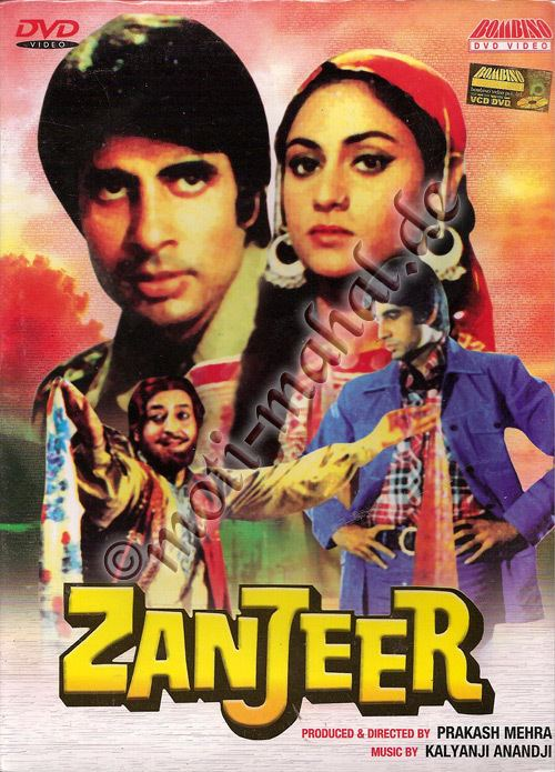 Zanjeer (1973 film) Zanjeer Filmterest Pinterest Hindi movies Films and Movie