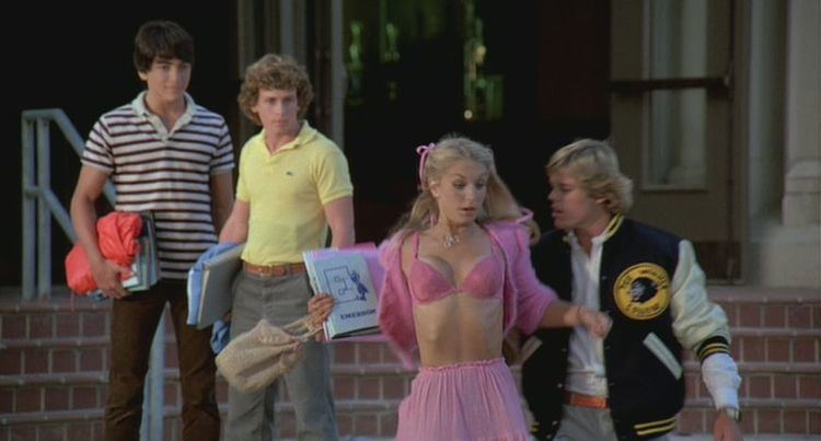 Zapped movie scenes Believe me true if anything can ruin a good teen sex comedy it s an awful romantic ballad that s more out of place than Willie Aames at the Oscars