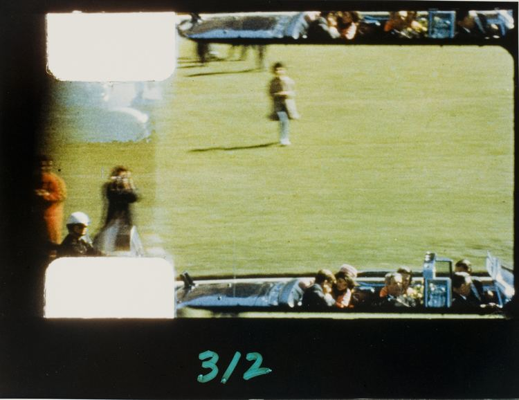 Zapruder film Stills from Zapruder film of JFK Assassination Fans in a Flashbulb