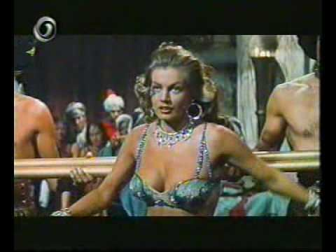 Zarak Anita Ekberg Dancing in Zarak 1956 YouTube