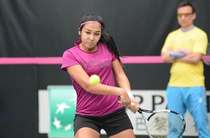 Zarina Diyas Fed Cup Search Results