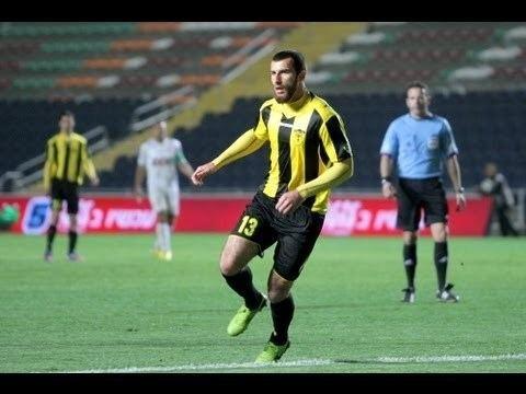 Zaur Sadayev Zaur Sadayev with his first goal in Beitar YouTube