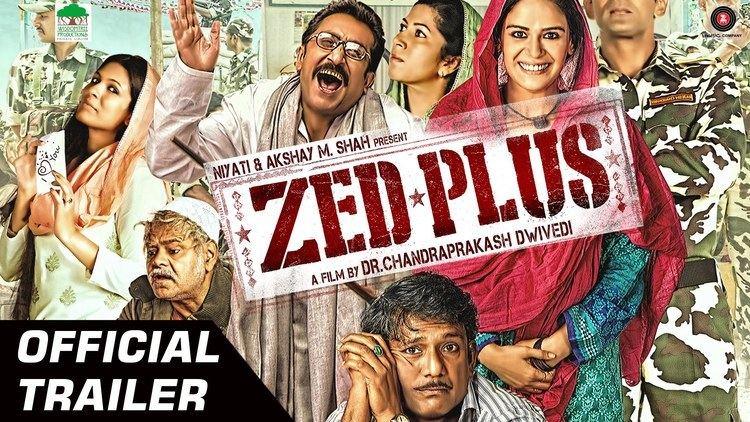 Zed Plus Zed Plus Official Trailer HD Adil Hussain Mona Singh Releasing