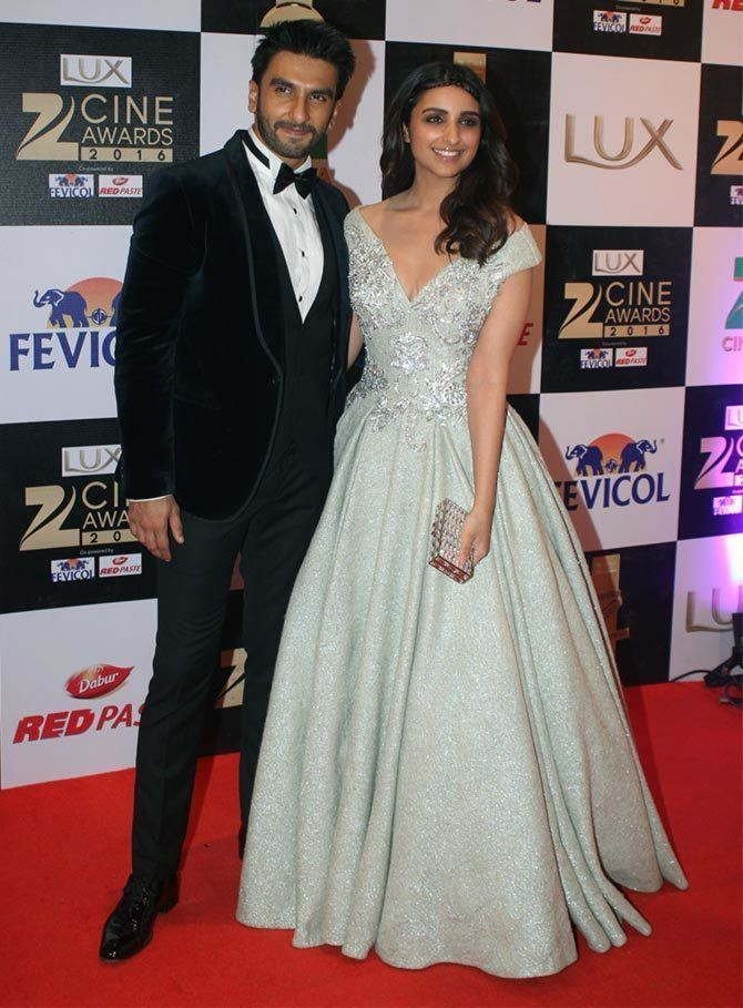Zee Cine Awards PIX Ranveer Parineeti Salman attend Zee Cine Awards Rediffcom