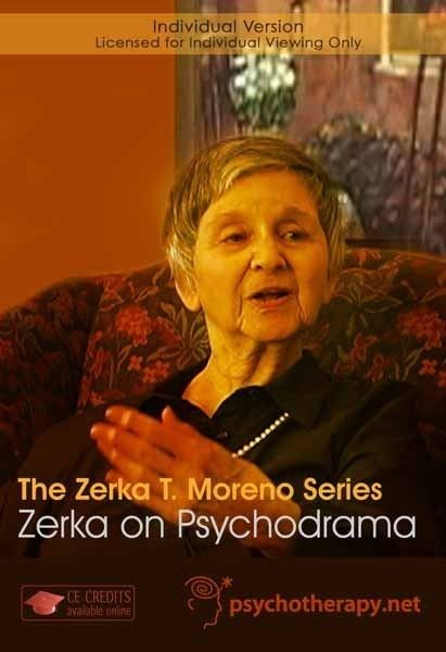 Zerka T. Moreno The Zerka T Moreno Series Zerka on Psychodrama 1 CPD Hour