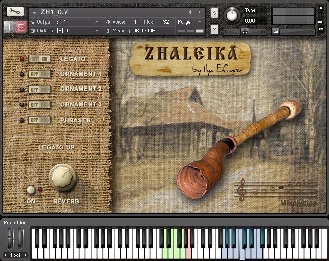 Zhaleika KVR Zhaleika by Ilya Efimov Production Russian Folk for Windows