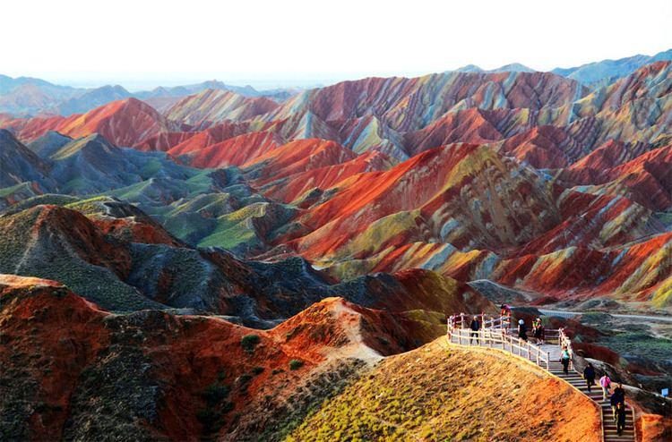 Zhangye Beautiful Landscapes of Zhangye