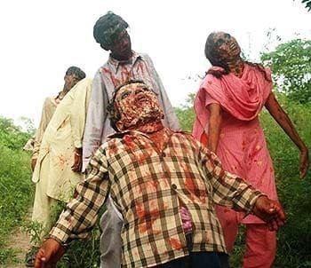 Zibahkhana Zibahkhana Beware zombies wearing saris Telegraph
